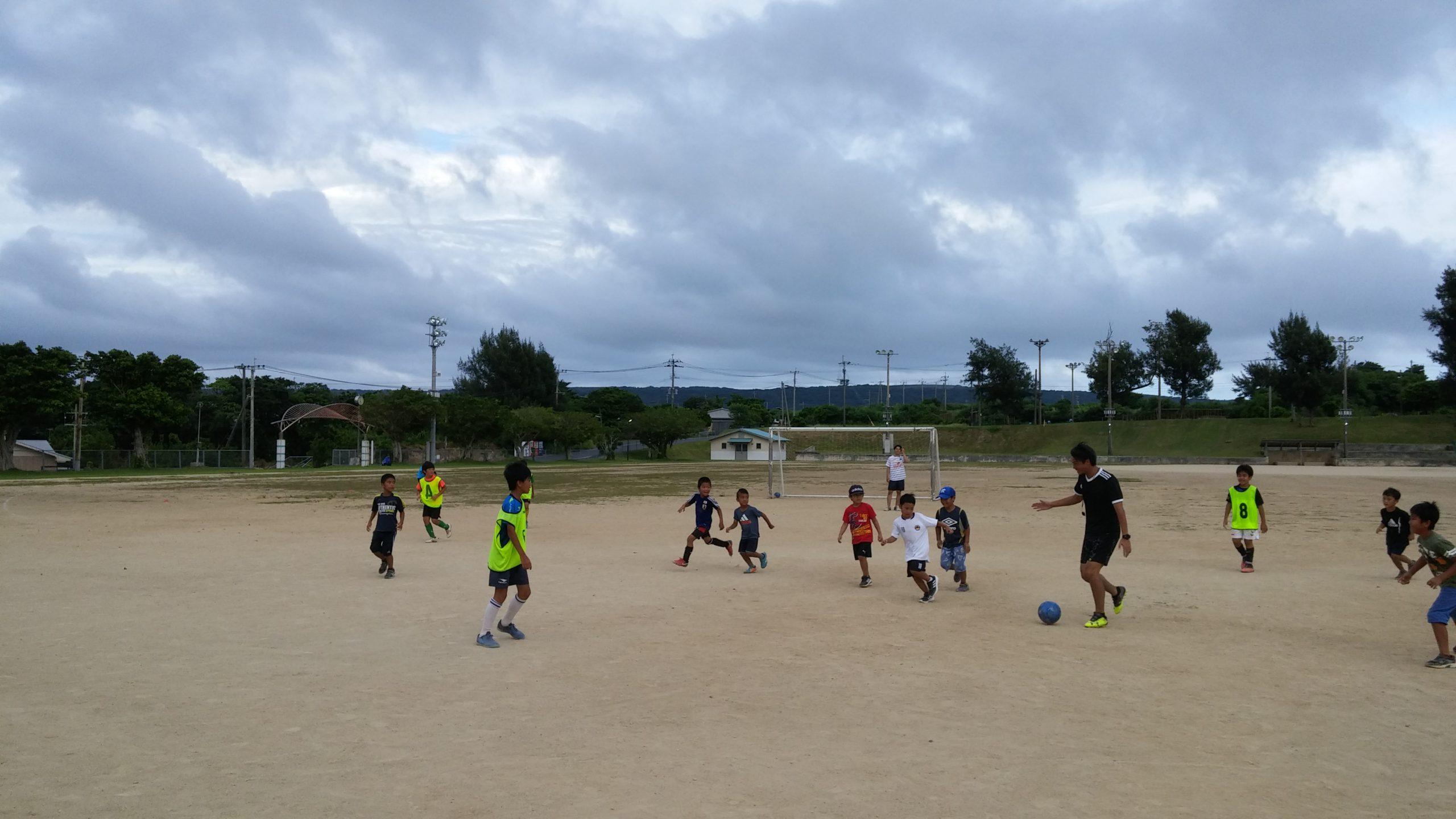 元Jリーガーによるサッカースクール
