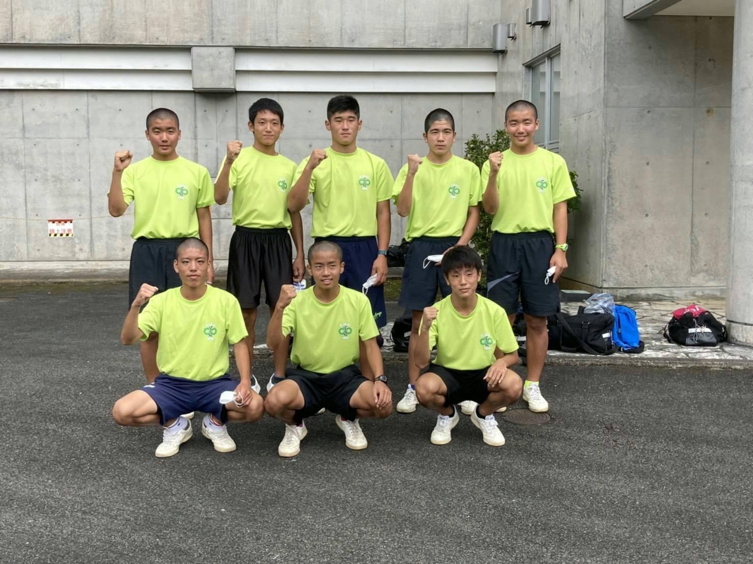 喜界中学校駅伝部(男子)県大会へ🎉
